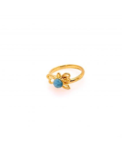 Silueta Small Gold Vermeil Ring