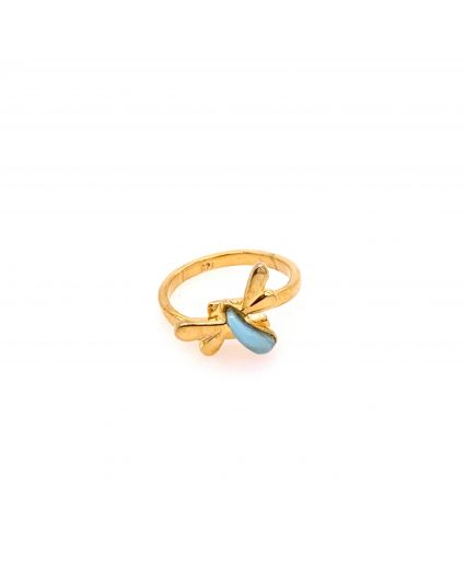 Sophia Mini Gold Gold Vermeil Rings