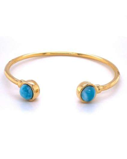 Redondo Larimar Open Bangle