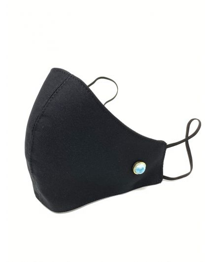Redondo Larimar Black Face Mask