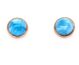 Redondo Larimar Dorato Earrings